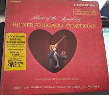 RCA Red Seal LSC-2496 Reiner/Chicago Symphony Shaded Dog 5S/9S  EX/EX