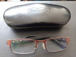 Specsavers 4000428++ M CE Reading Glasses With Frames & case Good Condition Used