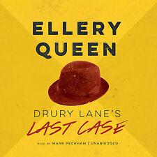 Drury Lane's Last Case by Ellery Queen CD 2014 Unabridged