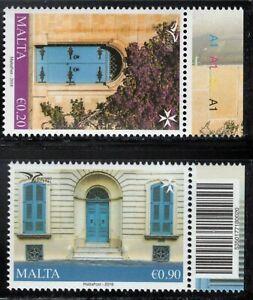 2018 Malta EuroMed MNH Typical Mediteranean Houses