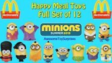 MCDONALDS 2015 MINIONS SET OF 12 talking toys Sealed- FREE SHIPPING new in pack