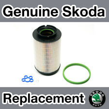 Genuine Skoda Octavia  MKII (1Z) Diesel (-06) Fuel Filter