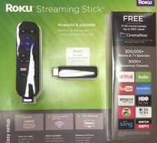 Roku Media Streaming Stick HDMI with Remote Control 3000+ Channels 1080p HD