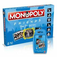 TV Show Friends Bundle/Combo Monopoly Board Game & Top Trumps Card Game - 8+