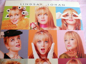 LINDSAY LOHAN ~ CONFESSIONS OF A TEENAGE DRAMA QUEEN ~ 2004 DISNEY MOVIE POSTER.