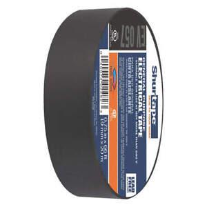 SHURTAPE EV 057 Electrical Tape,Black,PVC,66 ft. L