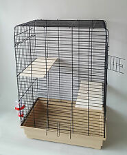 Degu Cage Chinchilla Gerbil Rat Hutch Pet Small Animals Wooden Platform Chipmunk
