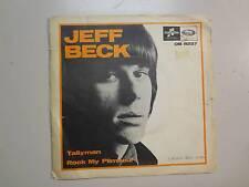 "JEFF BECK:(From Yardbirds)Tallyman-Rock My Plimsoul-U.K. 7"" Columbia,Sweden PSL"