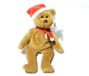 1997 TEDDY Original Ty Beanie Baby Christmas  Bear Style 4200