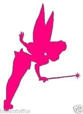 TINKERBELL PINK BUMPER STICKER TINKERBELL PINK WINDOW STICKER LAPTOP STICKER