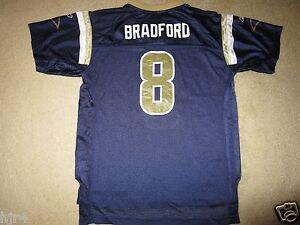 Sam Bradford #8 St. Louis Rams NFL Reebok Jersey Youth XL 18-20