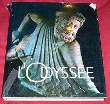 L'ODYSSEE / L'EPOPEE D'HOMERE RACONTEE EN IMAGES PAR ERICH LESSING
