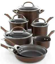 Circulon Symmetry Chocolate 11 Piece Cookware Set
