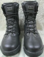Magnum Stealth Force 8.0 Leather Boots- Combat/Police/Ambo. Size 5 UK- As new