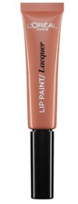 L'OREAL PARIS LIP PAINT LACQUER LIPSTICK LIP GLOSS SHADE 101 WITH THE NUDE NEW