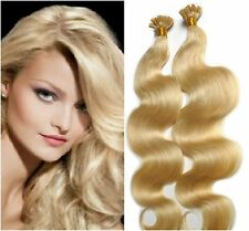 "Pre-Bonded U-Tip For Fusion 22"" Euro Remy Hair Extensions 100 Strands Any Color"