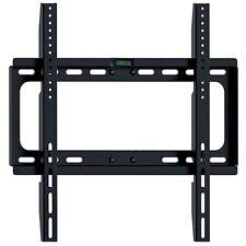 """STAFFA PORTA TV MONITOR LCD LED 25"""" 37"""" 42"""" 55"""" SUPPORTO PARETE MURO FISSO"""