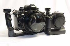 ZILLION Canon EOS 400D Unterwassergehäuse Komplett