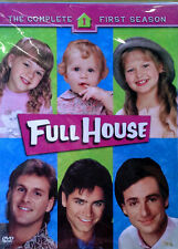 FULL HOUSE - THE COMPLETE FIRST SEASON - BOB SAGET - (4) DVD SET - STILL SEALED