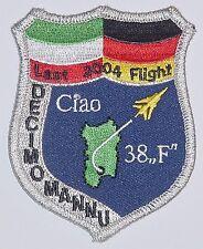Aufnäher Patch Luftwaffe JaBoG 38 Last Flight 2004 DECIMOMANNU .........A4210