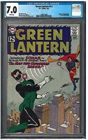 GREEN LANTERN #14 CGC 7.0 (7/62) DC white pages