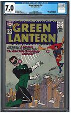 GREEN LANTERN #14 CGC 7.0 (7/62) DC white pages