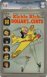 Richie Rich Dollars and Cents #6 CGC 9.0 1964 1034964005