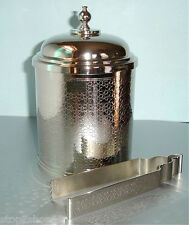Michael Aram By Waterford JAIPUR Lidded Ice Bucket with Tongs New In Box