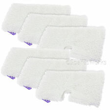 6 x Microfibre Cover Pads for Shark S3250 S3251 XT3101 Steam Cleaner Mop