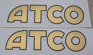 Vintage Atco Sticker