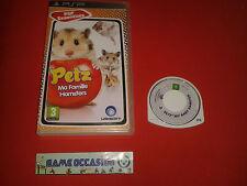 PETZ MA FAMILLE HAMSTERS PSP SONY PLAYSTATION PORTABLE EN BOITE PAL