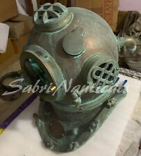 Copper Antique Morse Scuba Diving Helmet Brass Boston Divers Deep Sea Sca Helmet
