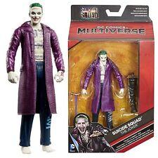 """DC MULTIVERSE THE JOKER 6"""" FIGURE from SUICIDE SQUAD Mattel (Killer Croc BAF)"""