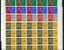 36288A) RWANDA 1963 MNH** FAO Fighting against Hunger 4v block of 25 sets