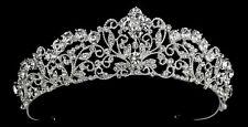 High end Swarovski crystal Crown wedding tiara bridal headpiece - WHOLESALE