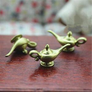 1x Dollhouse Miniatures Resin Aladdin Magic Lamps Tea Pot Doll House Accessories