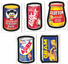 WACKY PACKAGES ANS2 LOT OF 5 MAGNETS-AJERX,CRAM,QUACKER,GLUTTON,DR.POPPER.LOT 3