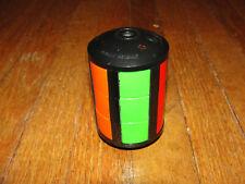 Vintage 1980s Whip-It Puzzle Toy LJN 1981 Brain Teaser Color Match Barrel Game