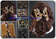 Trend African Hairclip Haarklammer Haarspange Haarkamm Satin Stoff Multi Positio