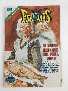 1977 SPANISH COMICS SERIE AGUILA FANTOMAS #310 LA AMENAZA ELEGANTE NOVARO MEXICO