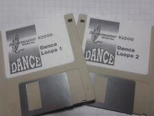 KURZWEIL ~ SWEETWATER ~ DANCE LOOPS ~ vol.1&2 ~ K2XXX/K2500/K2600 w/VAST PROGs