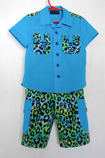 *Handcrafted*  Leopard SUIT  for Boys 3 (three) YEARS