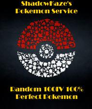 100IV 100% Perfect Guaranteed Random min. Lvl 30 Pokemon Go - ✔100% Quick & Safe