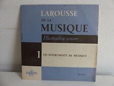 Larousse de la musique 1 Les instruments de musique  ELP 115