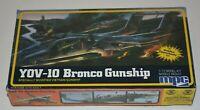 Vintage MPC YOV-10 Bronco Gunship Aircraft Model Kit #1-4110 - COMPLETE
