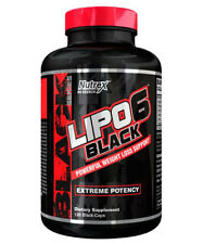 Nutrex LIPO 6 Black POWERFUL WEIGHT LOSS SUPPORT 120 Caps - Black series-