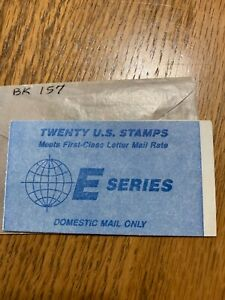 """Scott BK157 2282a 25¢ """"E"""" Series Booklet MNH Free Shipping in the USA"""