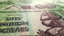 Zimbabwe 10 * $50 trillion banknotes UNCIRCULATED. 1/2 Quadrillion
