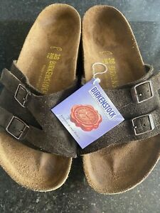Birkenstock Vaduz  Ladies Size 38 Euro 5/5.5 UK Rare Chocolate Mocha