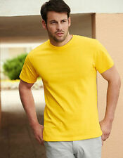 Camisetas de hombre azul Fruit of the Loom talla XL